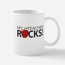 My Teacher Rocks! Mugs
