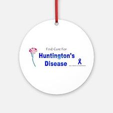 Huntington Cure Ornament (Round)