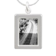 A Little More Track Necklaces
