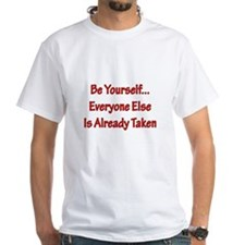 Be Yourself red T-Shirt