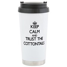 Keep calm and Trust the Cottontails Travel Mug