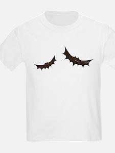 Flying Bats Antique Silhouette T-Shirt