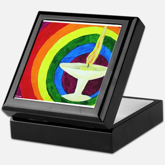 Unique Unitarian universalist chalice Keepsake Box