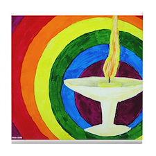 Funny Spirituality Tile Coaster