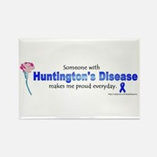 Huntington Pride Rectangle Magnet