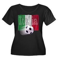Soccer Flag Italia T