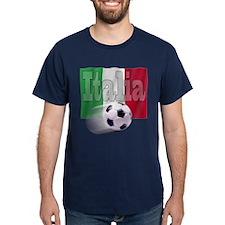Soccer Flag Italia T-Shirt