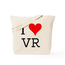 I Love VR Tote Bag