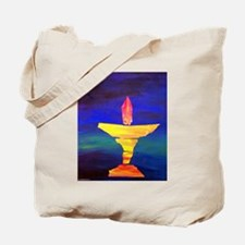 Funny Rainbow chalice Tote Bag