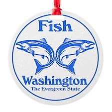 Fish Washington the Evergreen State Ornament