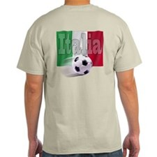 Soccer Flag Italia (B) T-Shirt