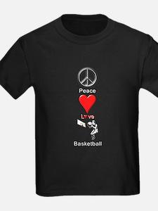 Peace Love Basketball T