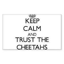 Keep calm and Trust the Cheetahs Decal