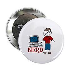 """NERD 2.25"""" Button (100 pack)"""