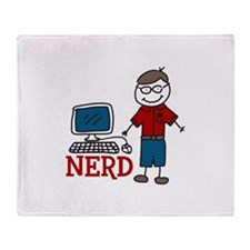 NERD Throw Blanket
