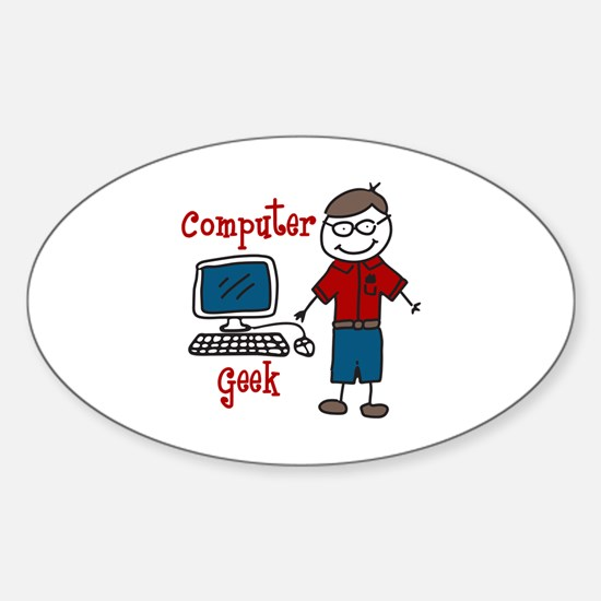 Computer Geek Decal