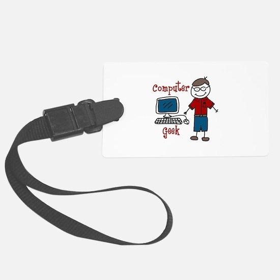 Computer Geek Luggage Tag