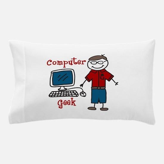 Computer Geek Pillow Case