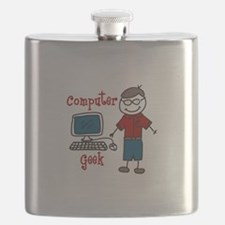 Computer Geek Flask