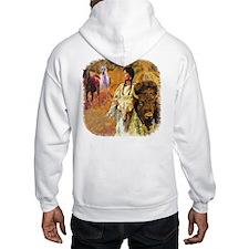 Buffalo Woman Hoodie