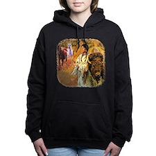 Buffalo Woman Women's Hooded Sweatshirt