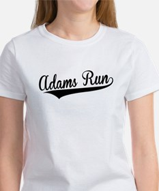 Adams Run, Retro, T-Shirt