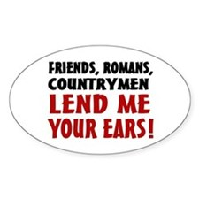 Lend Me Your Ears Decal