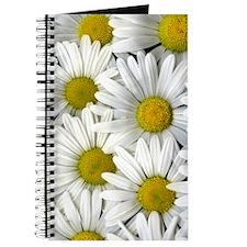 White Daisy Flower Journal