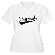Alanreed, Retro, Plus Size T-Shirt