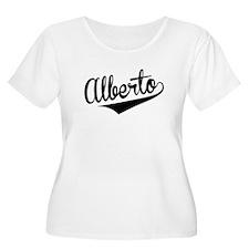 Alberto, Retro, Plus Size T-Shirt