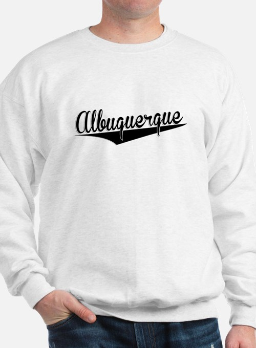 Albuquerque, Retro, Sweatshirt