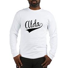 Alda, Retro, Long Sleeve T-Shirt