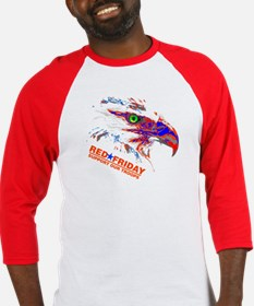 Red Friday American Eagle Baseball Jersey
