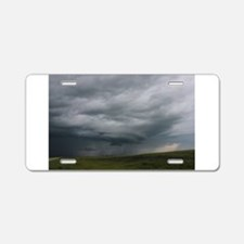 Storm chasing Aluminum License Plate