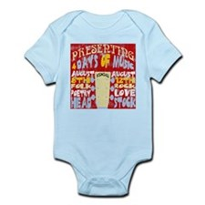 Worn Look 60's Festival Infant Bodysuit