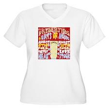 Worn Look 60's Festival T-Shirt