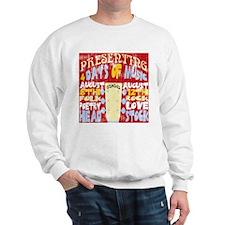 Worn Look 60's Festival Sweatshirt
