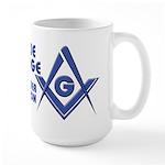 The modern Blue Lodge Master Mason Large Mug