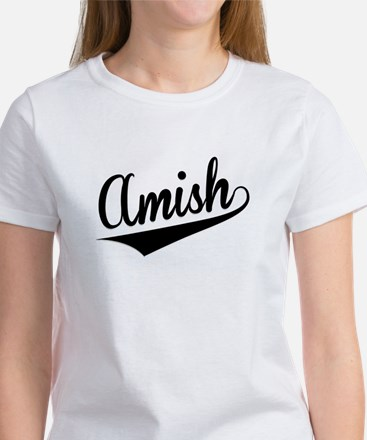 Amish, Retro, T-Shirt