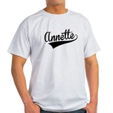 Annette, Retro, T-Shirt