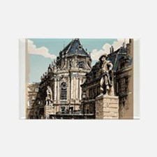 Vintage Hand Drawn View of Versailles Chapel Magne