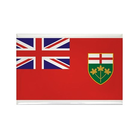 Ontario Rectangle Magnet (100 pack)