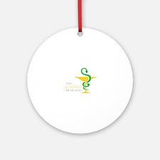 THY goddess OF HEALTH Ornament (Round)