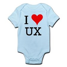 I Love UX Infant Bodysuit