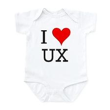 I Love UX Infant Bodysuit
