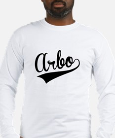 Arbo, Retro, Long Sleeve T-Shirt