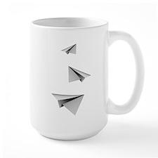 Origami Paper Plane Mugs