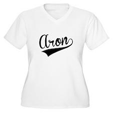 Aron, Retro, Plus Size T-Shirt