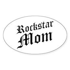 Rockstar Mom Oval Decal