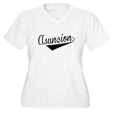 Asuncion, Retro, Plus Size T-Shirt